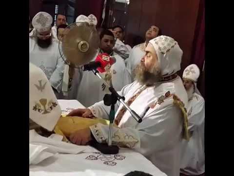 قسمة اللهم المعتني بكل احد للانبا يؤانس اسقف اسيوط 14/12/2016
