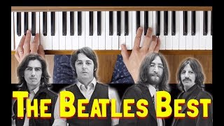 The Fool On The Hill (The Beatles Best) [Easy Piano Tutorial]