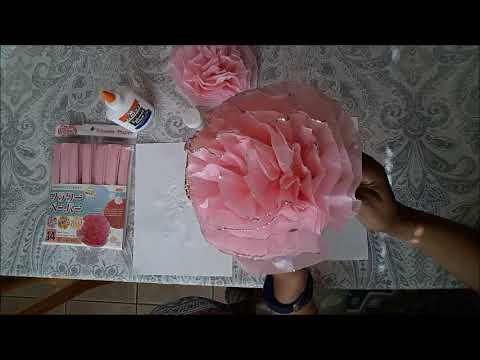 Dynamic diy glitter tissue paper flowers youtube dynamic diy glitter tissue paper flowers mightylinksfo