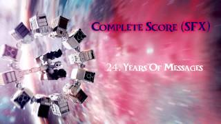 INTERSTELLAR Complete Score SFX - 24 . Years Of Messages