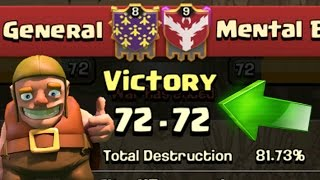 Clash Of Clans - HOW DID WE WIN!?! - ALL MAX VALKYRIE 3 STAR!