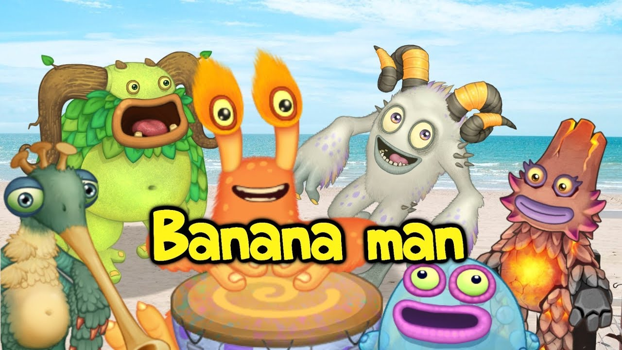 Tally Hall Banana Man But It S Performed By Monsters My