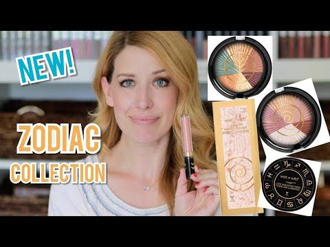 WET N WILD ZODIAC COLLECTION REVIEW | ZODIAC MAKEUP, EYESHADOWS, HIGHLIGHTERS, LIP GLOSSES
