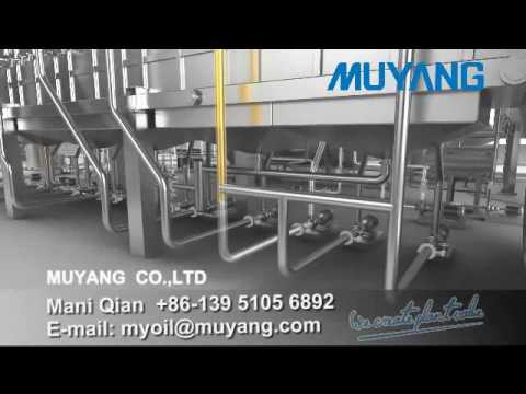 MUYANG Oilseed Press and Oil Extraction process