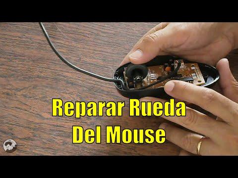 Reparar Rueda del Mouse (limpiar sensor de Scroll)