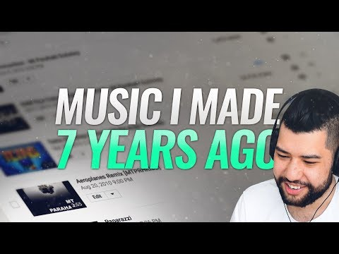 My FIRST Song (Reacting To Music I Made 7 Years Ago)