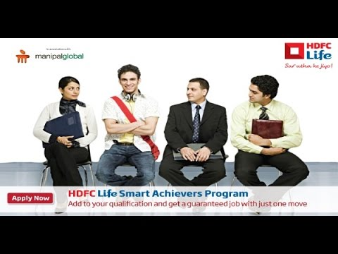 HDFC Life Smart Achiever Program with Guaranteed Salary of 3 Lacs Per Annum