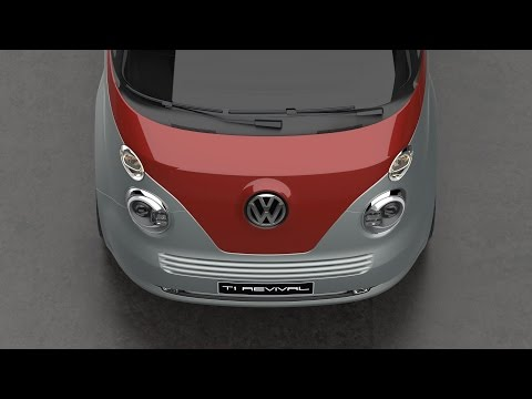 Volkswagen T1 Revival Concept - HQ by David Obendorfer on YouTube