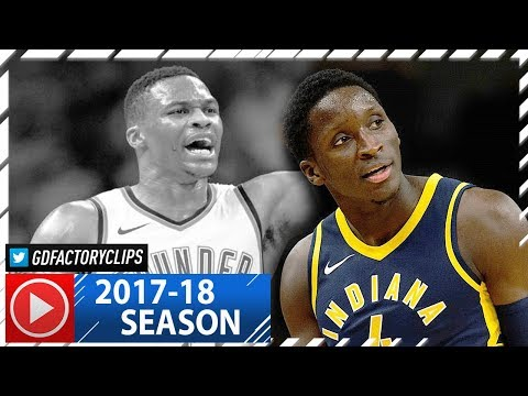 Victor Oladipo Full Highlights vs Thunder (2017.10.25) - 35 Pts Against Westbrook!