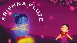 1 HOUR Of Little Krishna Flute Music - Meditation, Relax, Sleep And Study