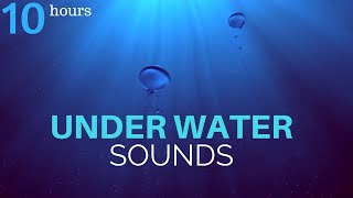Deeply Relaxing Underwater Sounds - 10 Hours | Deep Ocean Sounds - Sleep, Relax, Study, Meditation