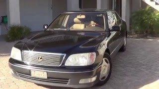 FULL TOUR // 1999 Lexus LS400