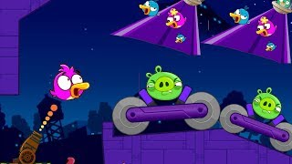 Angry Birds Cannon 4 - RESCUE TEAM BIRDS FROM BAD PIGGIES!