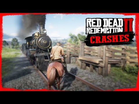 RDR2 Epic Horse Crash Compilation - Euphoria ragdoll Physics🤠