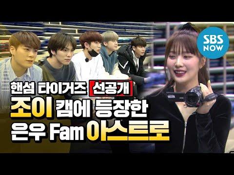 [핸섬타이거즈] 선공개 '조이 캠에 등장한 은우 Fam 아스트로' / 'Handsome Tigers' Special | SBS NOW