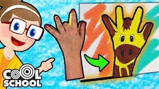 Animal Drawing Tricks | Crafty Carol Crafts | Cool School