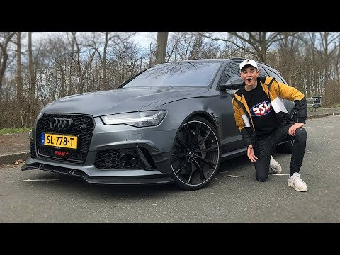 De Audi RS6+ ABT is de perfecte auto..