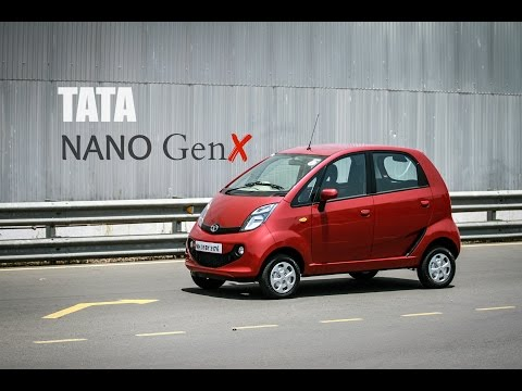 Tata GenX Nano AMT Driven | Video Review | Looks, Features, Automatic Gearbox, Mileage | ZEEGNITION