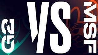 G2 vs. MSF - Week 9 Day 2   LEC Spring Split   G2 Esports vs. Misfits Gaming (2019)