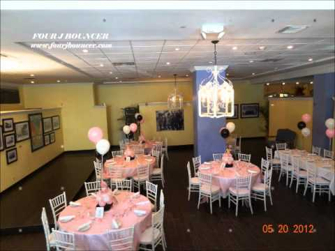 Where To Rent A Baby Shower Chair Metal Table And Chairs , Free On Party Rentals - Youtube