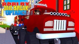 ROBLOX - JAIL BREAK EPIC UPDATE... MONSTER TRUCKS & FERRARIS!!