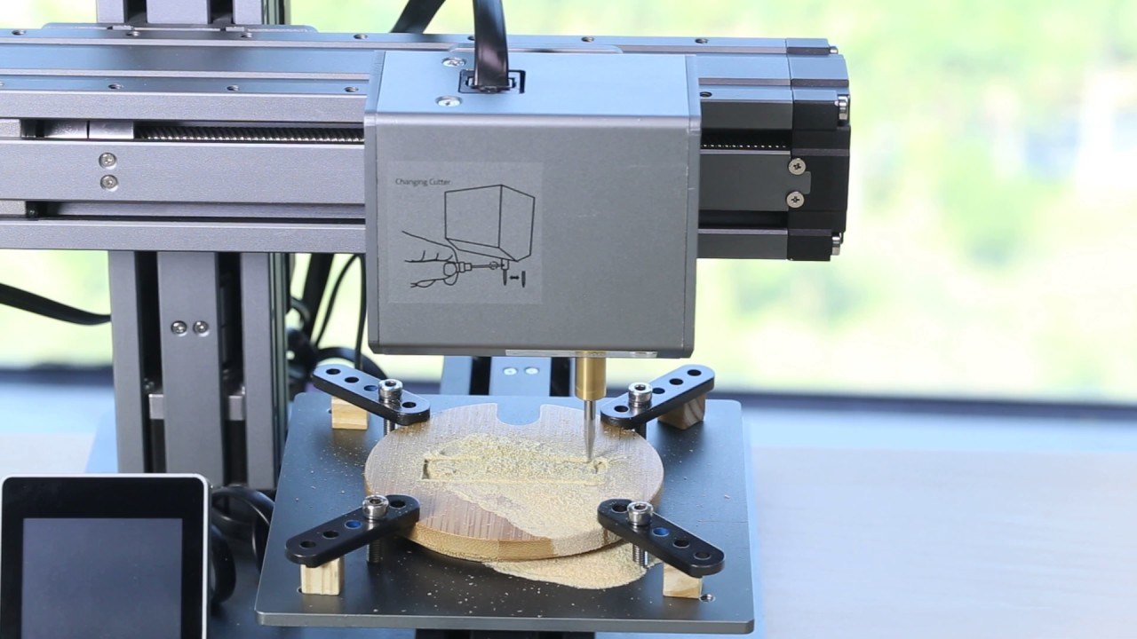Snapmaker 3d Printer Can Do Cnc Carving Youtube