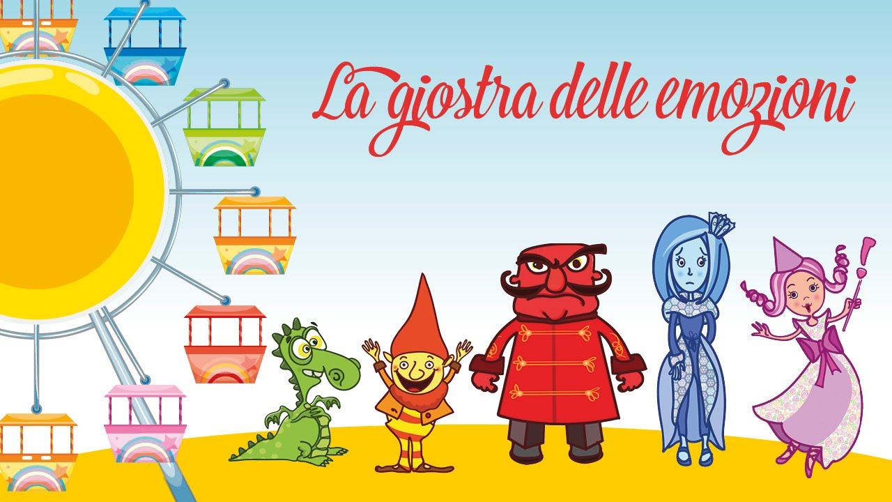 La giostra delle emozioni canzoni per bambini di mela for Immagini giraffa per bambini