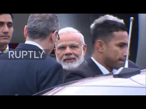 Russia: Modi touches down in St. Petersburg ahead of Putin t