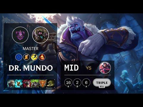 Dr. Mundo Mid vs Irelia - EUW Master Patch 10.21