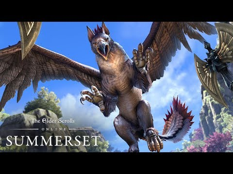 The Elder Scrolls Online: Summerset – Gameplay Announce Trailer
