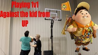 Playing BasketBall Against The Kid From Up! (Episode 2.)