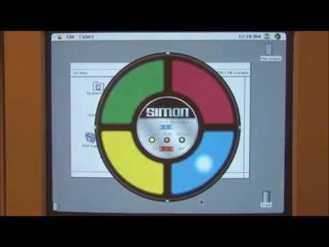 Apple Macintosh Quadra 700 (1991) Start Up and Demonstration