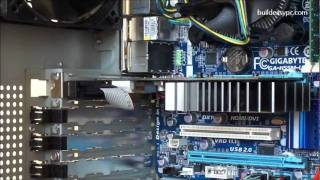 build your own pc step 7 how to install a pci e graphics card nvidia gt430