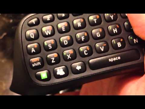 Xbox 360 Chatpad Unboxing