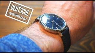 DUFA Breuer Automatic Watch Review - Bauhaus Design - DF-9011