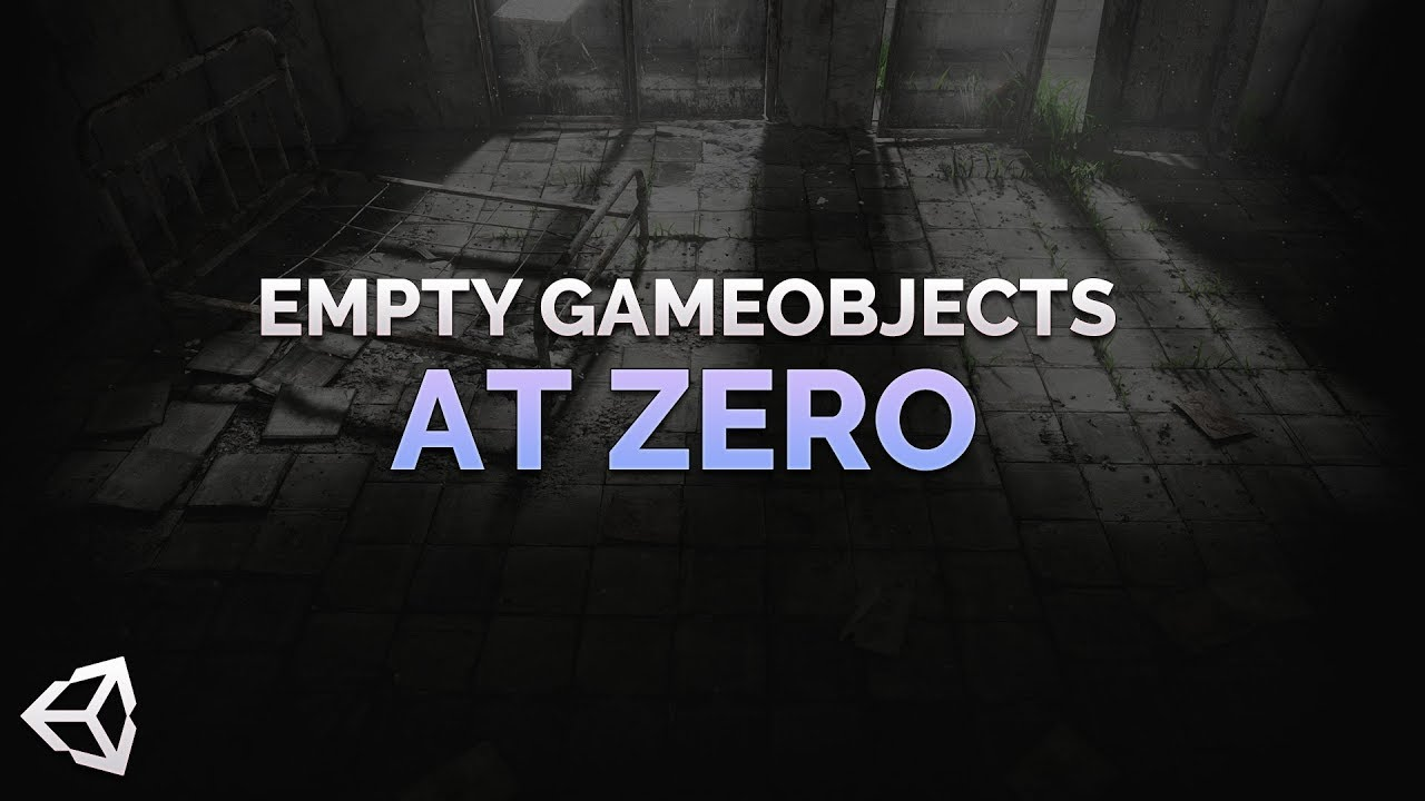 Creating Empty GameObjects at Zero in Unity
