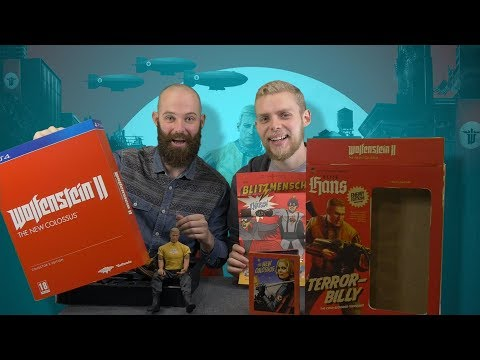 Wolfenstein II: The New Colossus Collector's Edition - Full Unboxing And Impressions