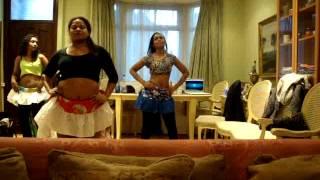 Blakkayo - Confians Mauritian Fusion Sega Dancers Rehersals