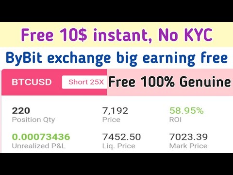 Free 10$ instant | 100% genuine ByBit exchange Airdrop | Free bitcoin | Crypto24