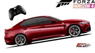 Golf 2 GTI в жесткой схватке против Alfa Romeo Giulia Forza Horizon 4