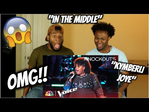"""Kymberli Joye Slows Down Zedd's """"The Middle"""" With Powerful Vocals - The Voice 2018 Knockouts"""