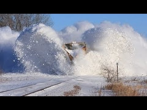 Thumbnail: Best Train Snow Plow and Blower Compilation #01 JGV