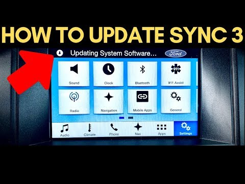 How To Update FORD SYNC 3 To The Latest Version! (USB)