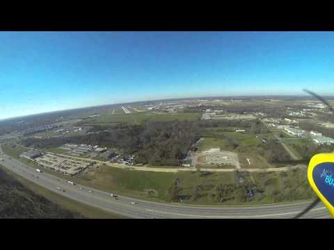 Landing on 24L at Dayton International Airport