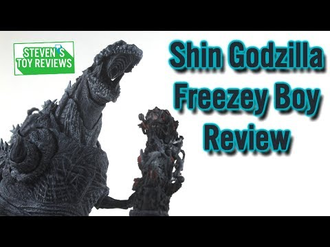 S.H. MonsterArts Shin Godzilla 2016 4th Form Frozen Ver Review