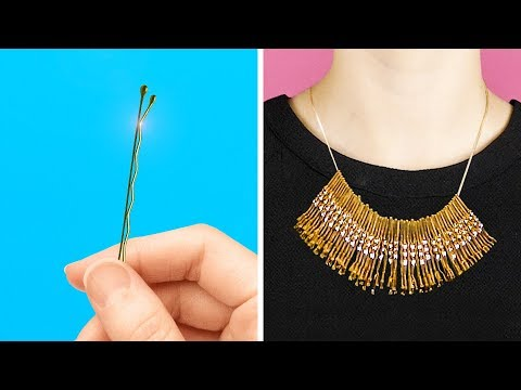 18 LOVELY AND COOL DIY JEWELRY ITEMS