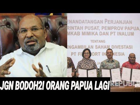 GUBERNUR PAPUA MERADANG SOAL FREEPORT