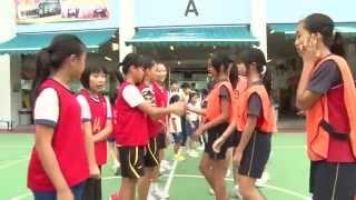 郭一葦中學舉辦友校小學籃球比賽