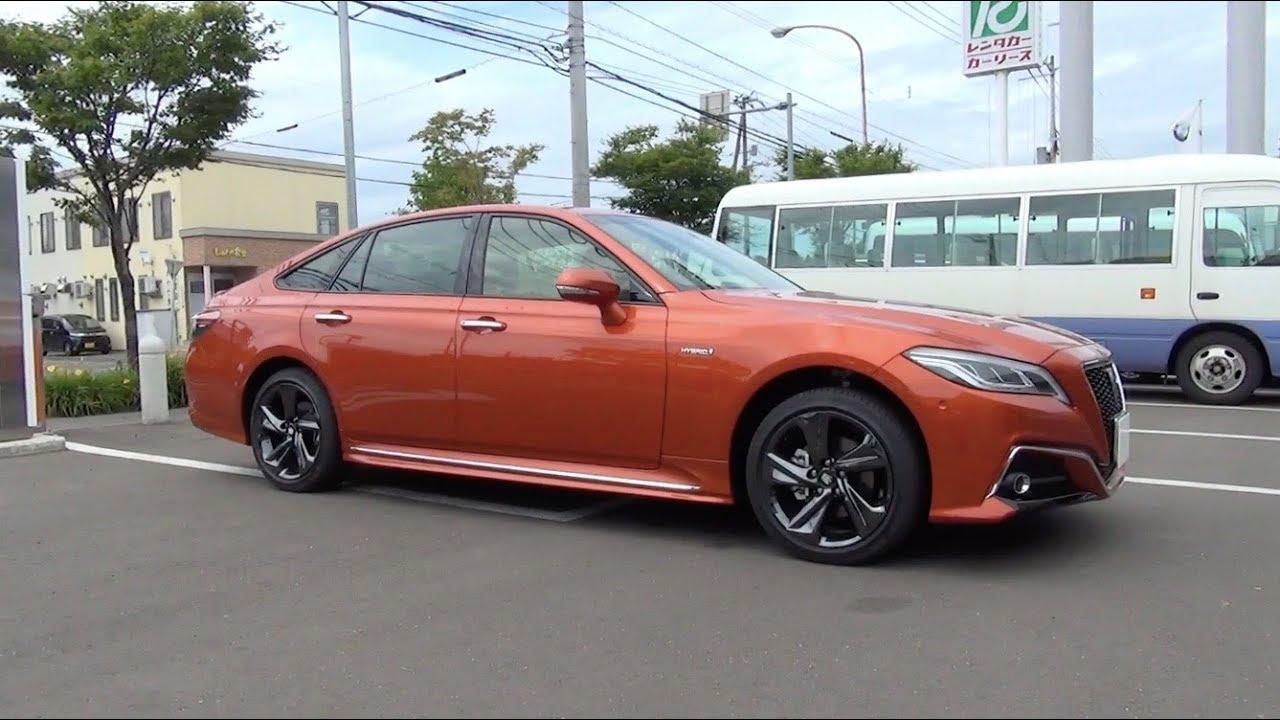 2018 New Toyota Crown Hybrid 2 5 Rs Advance Four Exterior Interior