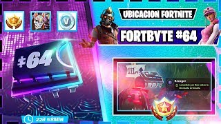 FORTBYTE 64 Fortnite Hidden in the mountains south of PARCsurentero SKIN ROX to UNLOCK IT